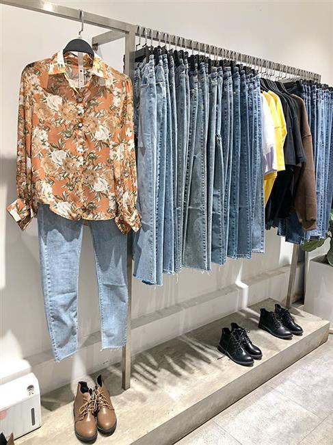 Quần jeans nữ Lenclothing 1181
