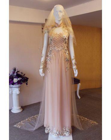 Áo cưới hồng thắng 3706728