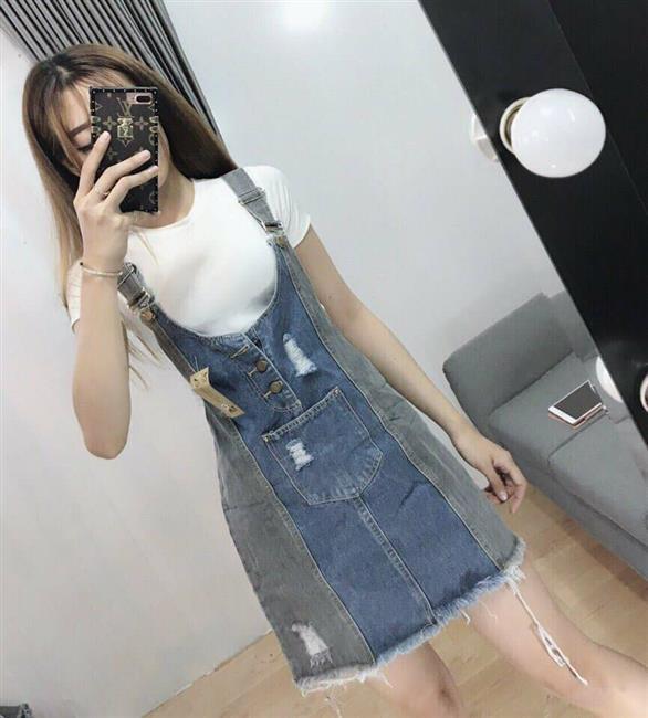 Váy yếm jeans 4648738